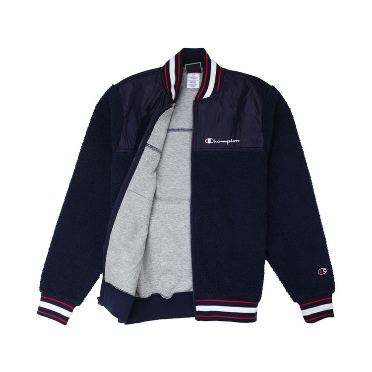 Champion Men's Sherpa Baseball Jacket - PremierVII