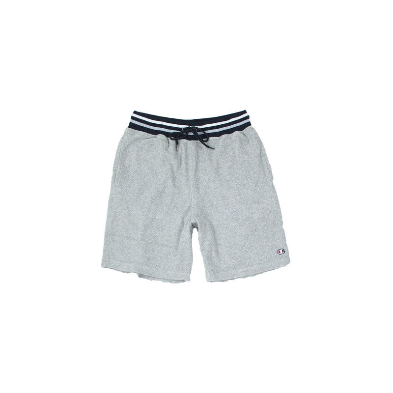 Champion Men's Terry Cloth Shorts Oxford Grey