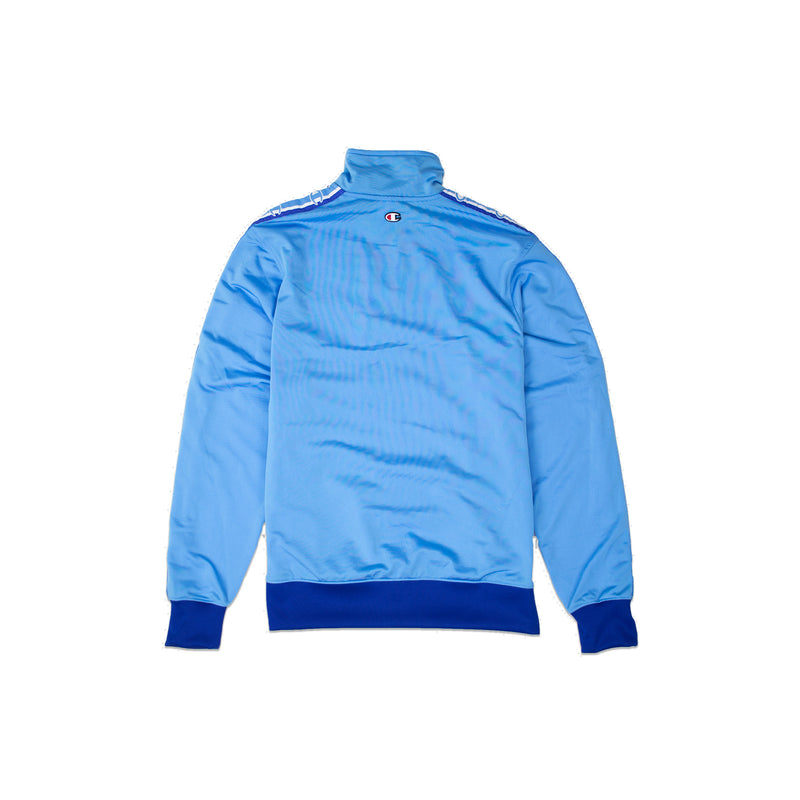 Champion Men's Track Jacket Active Blue Back