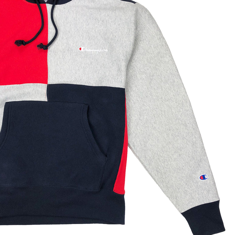 Champion Reverse Weave Color Block Pullover Hoodie - PremierVII