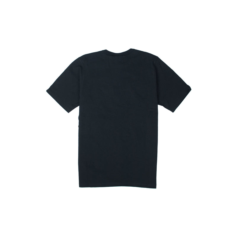 Champion Men's Reverse Weave Felt Script Tee Black Back