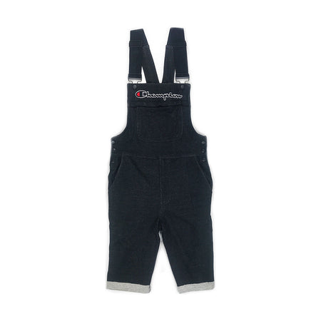 Champion Reverse Weave Shortall Overall Black