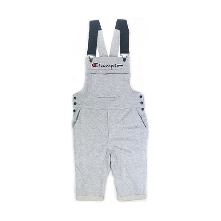 Champion Reverse Weave Shortall Overall Oxford Gray
