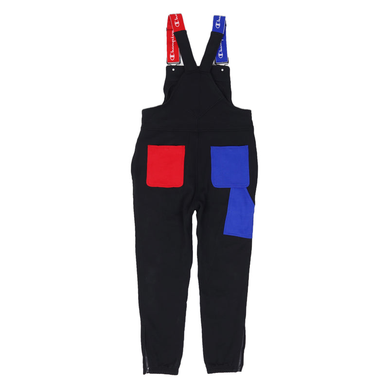 Champion Reverse Weave Super Fleece 3.0 Overalls Black Back
