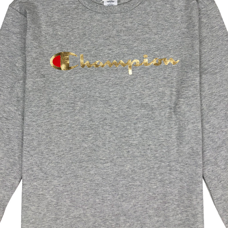 Champion Script Long Sleeved T-Shirt - PremierVII