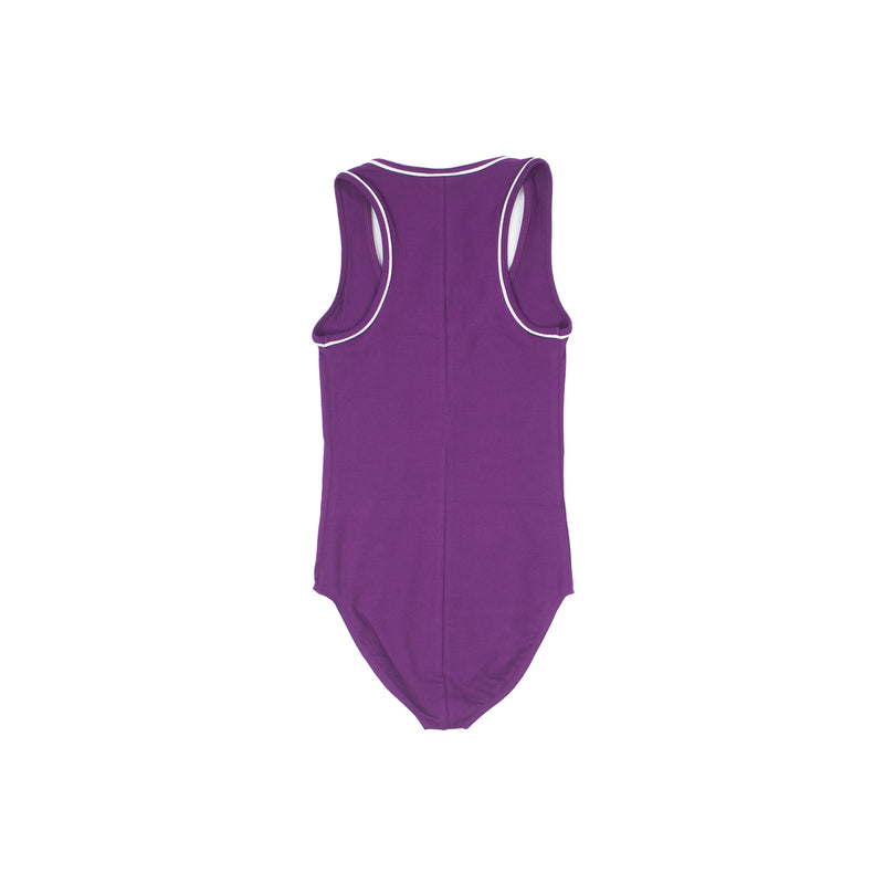 Champion Women's Everyday Tank Top Bodysuit Venetian Purple Back