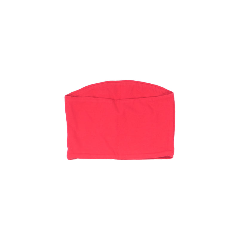 Champion Women's Everyday Tube Top Scarlet Back