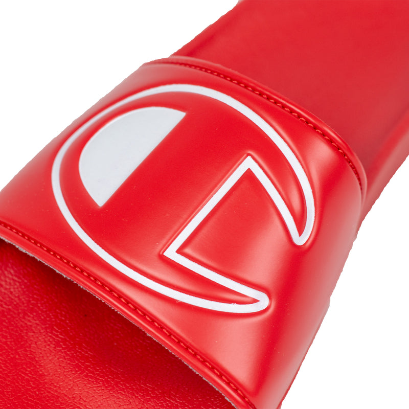 Champion Women's IPO Slides Red Logo