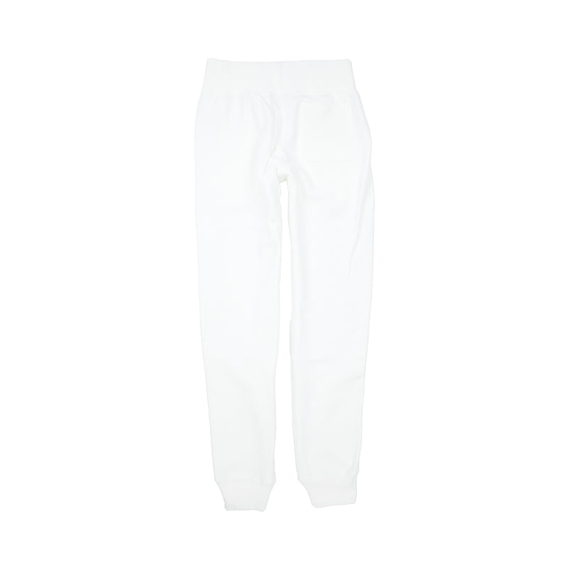 Champion Women's Reverse Weave Big C Joggers White Back