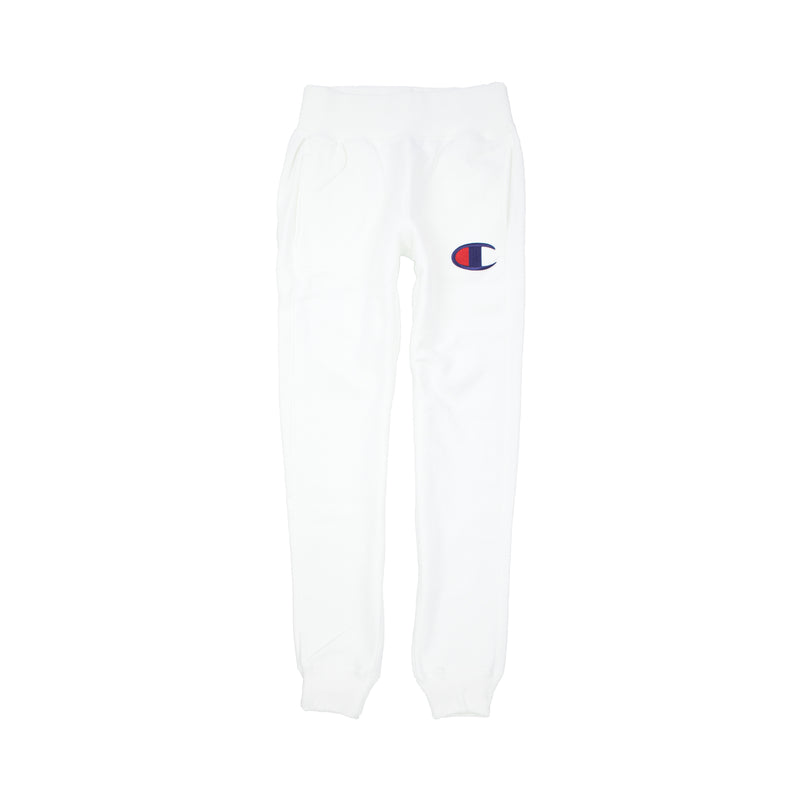 Champion Women's Reverse Weave Big C Joggers White