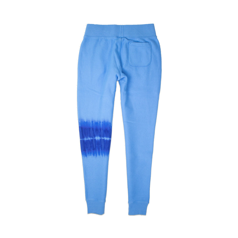 Champion Women's Streak Dye Reverse Weave Joggers Active Blue Back