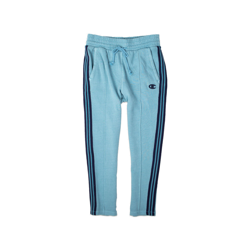 Champion Women's Vintage Dye Fleece Track Pants Cornflower Teal