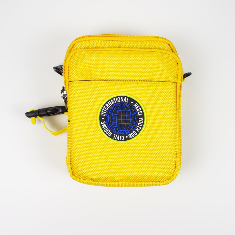 Civil Regime Global Crossbody Bag Yellow