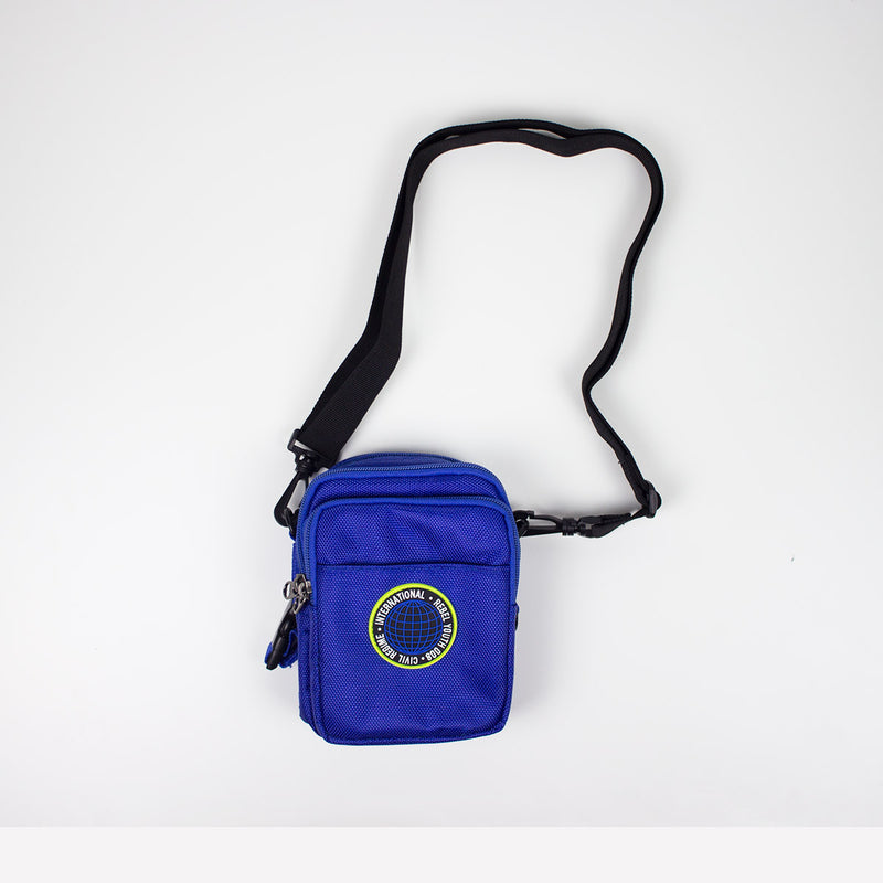 Civil Regime Global Crossbody Bag Blue Strap