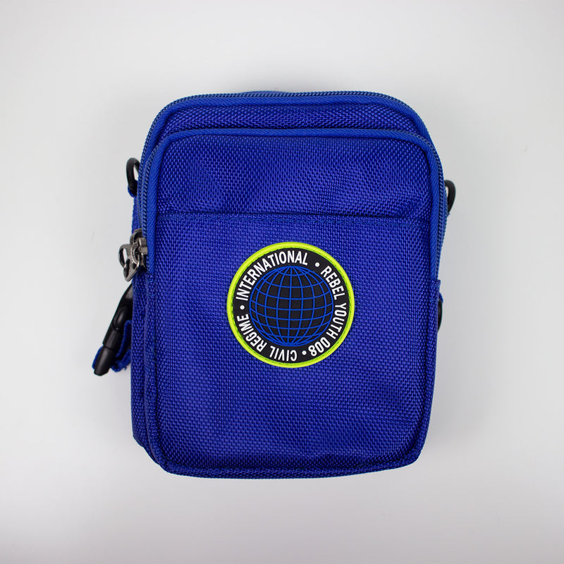 Civil Regime Global Crossbody Bag Blue