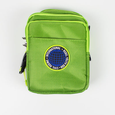 Civil Regime Global Crossbody Bag Green