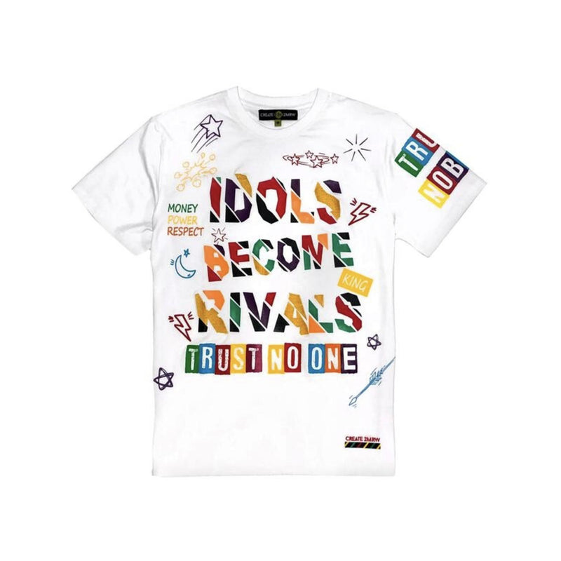Create 2MWR Men's Idols Become Rivals Tee