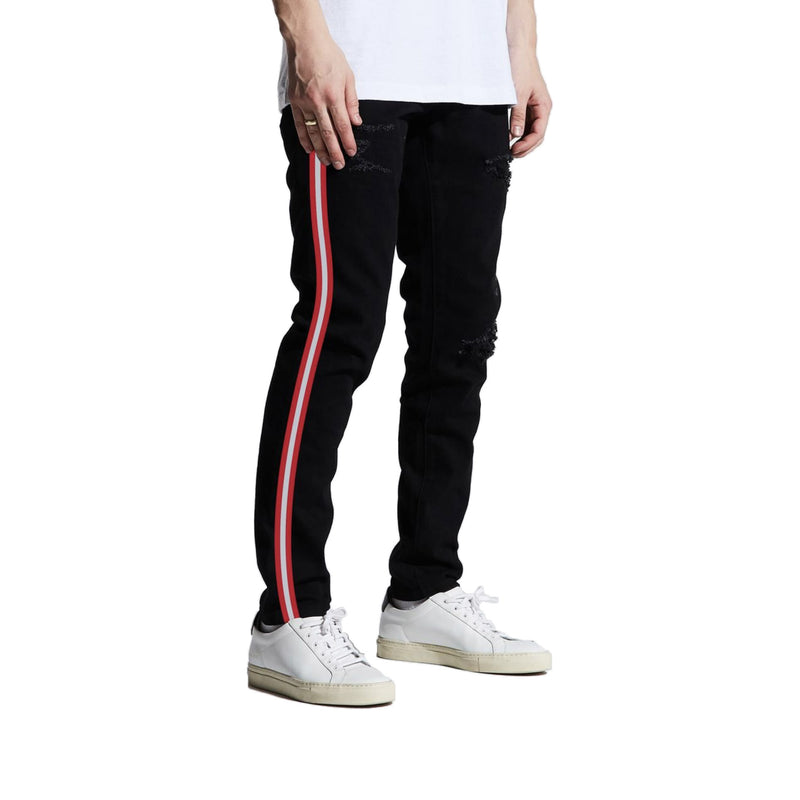 Crysp Denim Atlanta Striped Jeans