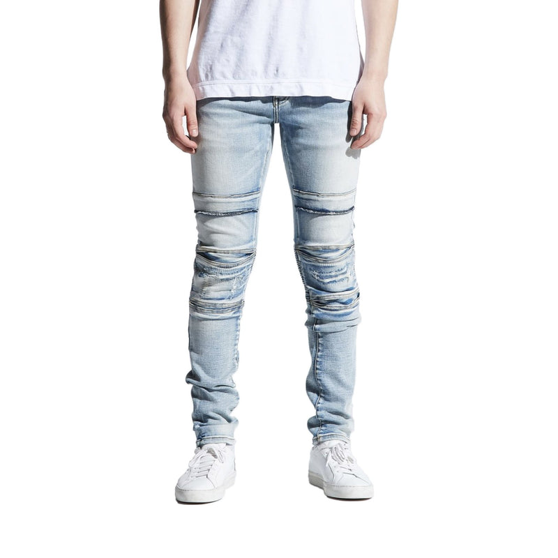 Crysp Denim Men's Fracesco Jeans Light Indigo Front
