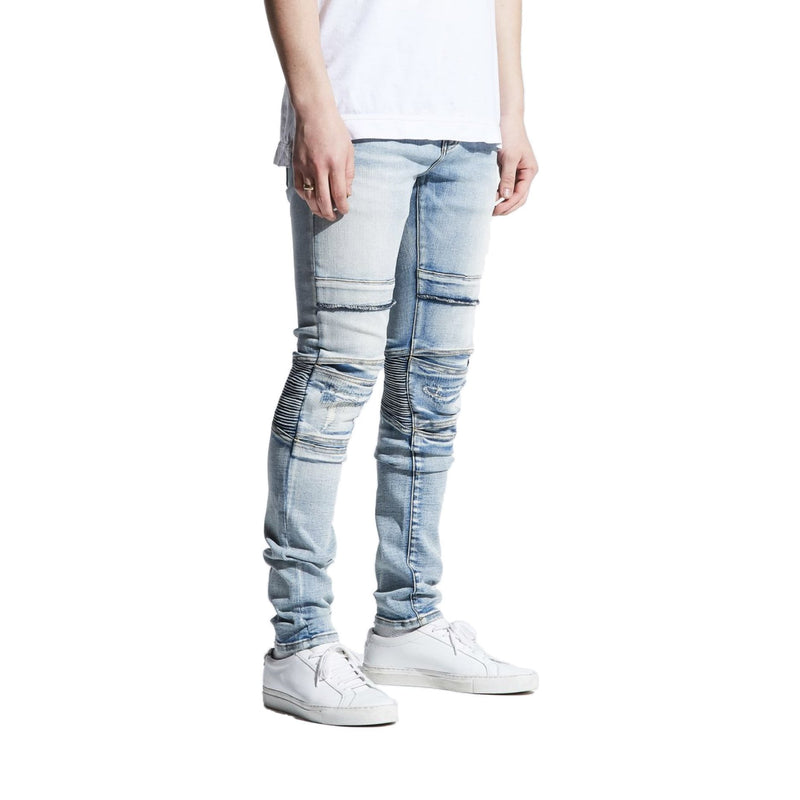 Crysp Denim Men's Fracesco Jeans Light Indigo