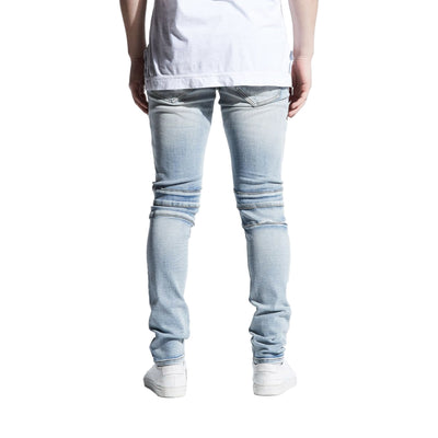 Crysp Denim Men's Montana Jeans Light Indigo Back