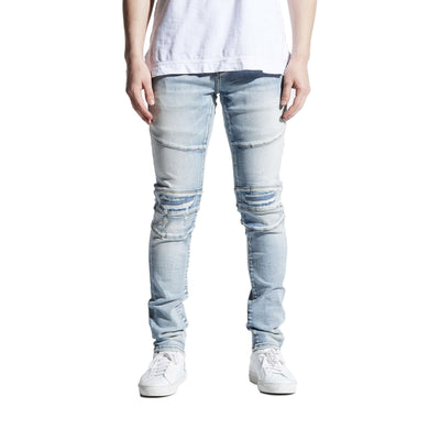 Crysp Denim Men's Montana Jeans Light Indigo Front