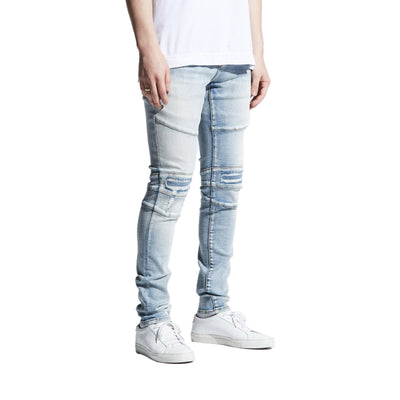 Crysp Denim Men's Montana Jeans Light Indigo