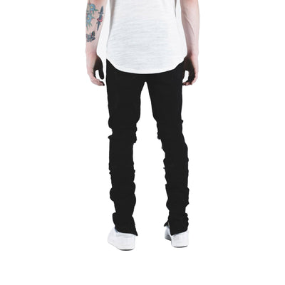 Crysp Denim Men's Pacific Jeans Black Back