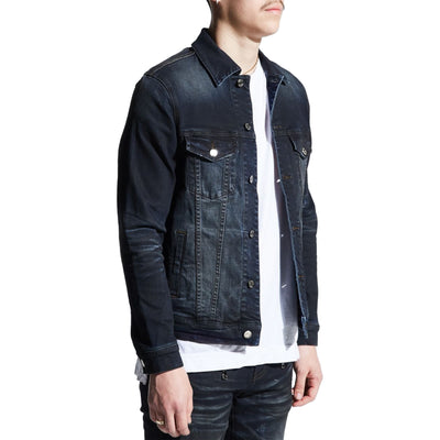 Embellish Men's Clemente Denim Jacket Charcoal