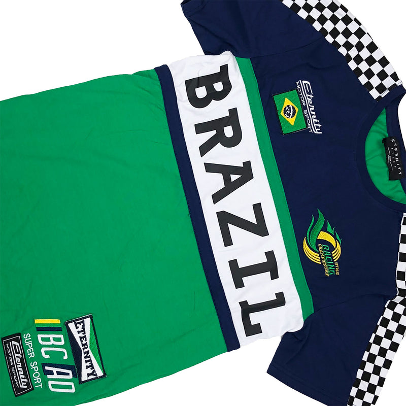 Eternity BC / AD Brazil Moto Tee Green Front