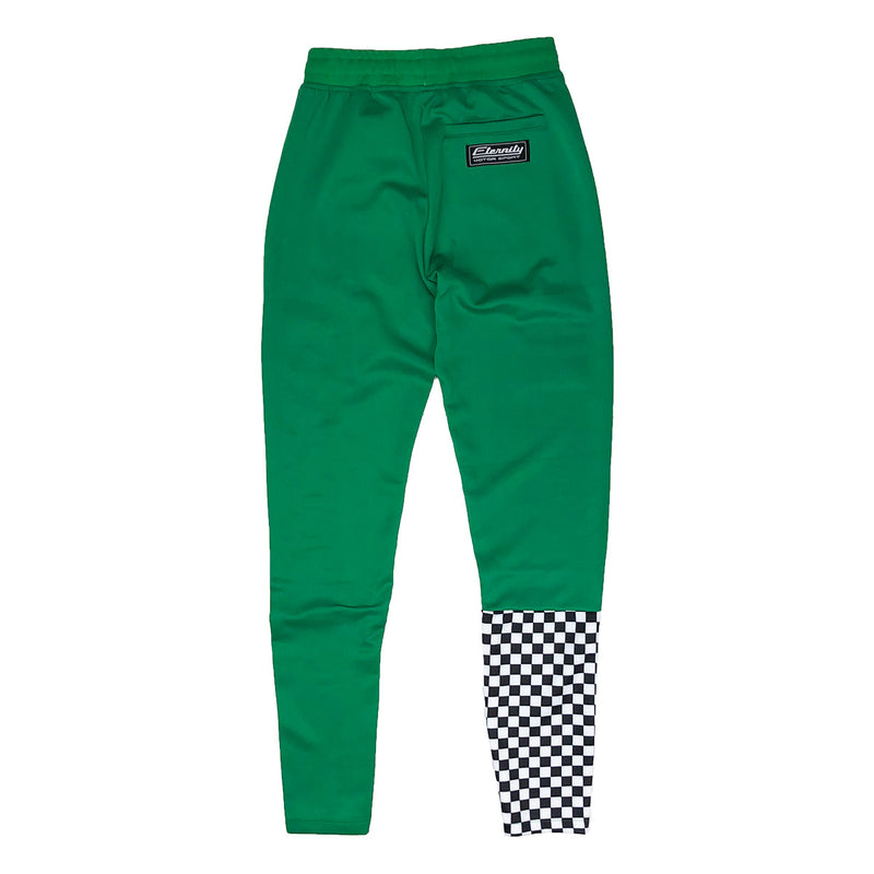 Eternity BC / AD Brazil Moto Track Pants Green Back