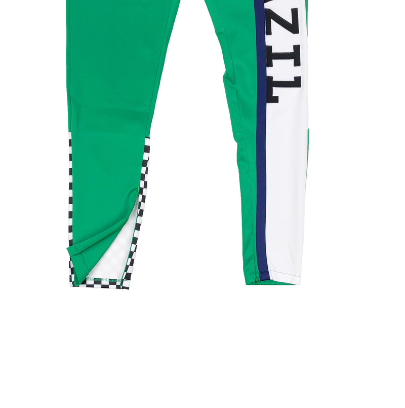 Eternity BC / AD Brazil Moto Track Pants Green Ankles