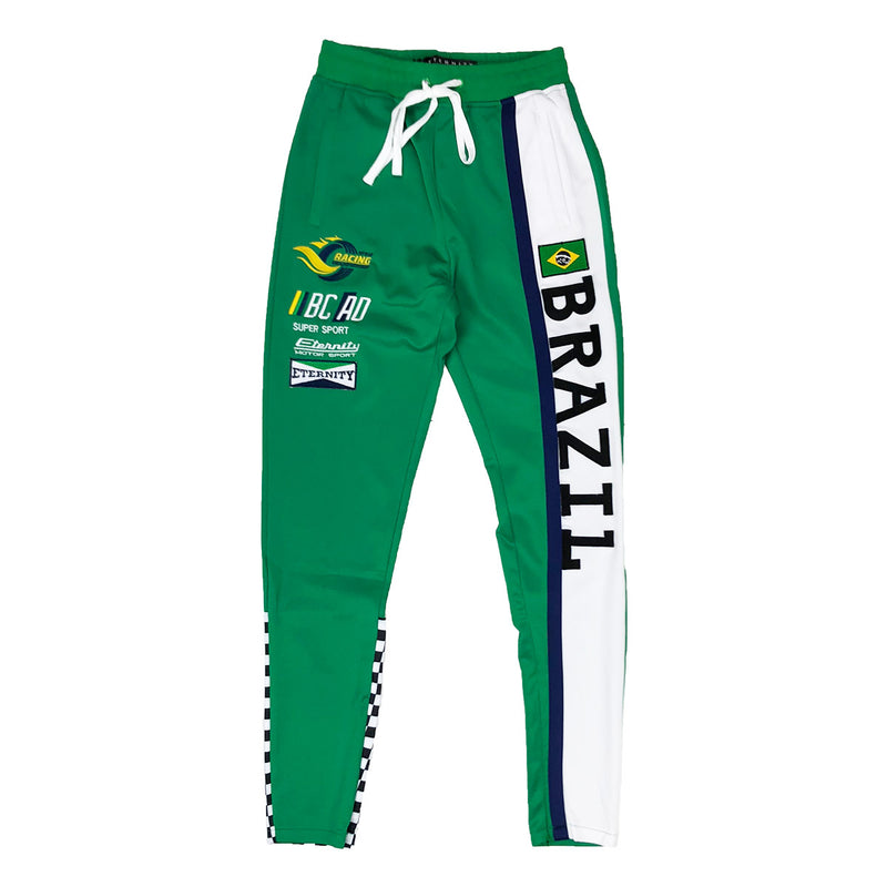 Eternity BC / AD Brazil Moto Track Pants Green