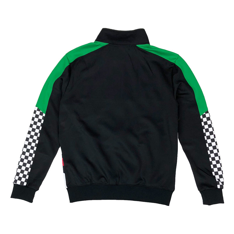 Eternity Dubai Racing Track Jacket Black Back