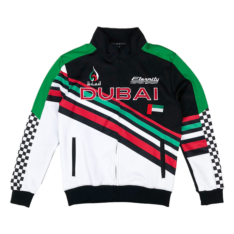 Eternity Dubai Racing Track Jacket Black