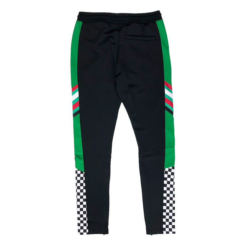Eternity Dubai Racing Track Pants Black Back