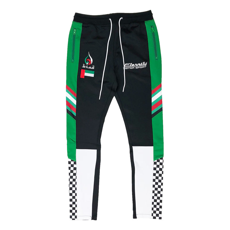 Eternity Dubai Racing Track Pants Black