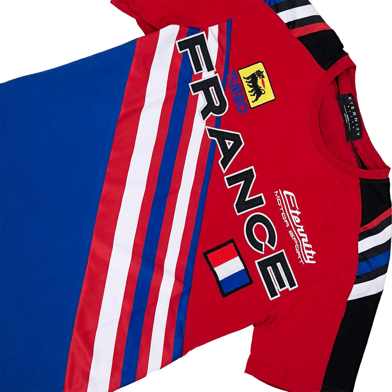 Eternity BC / AD France Racing Tee Red Front
