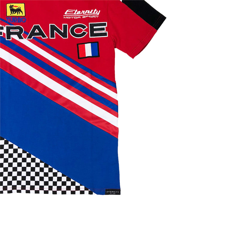 Eternity BC / AD France Racing Tee Red Logo