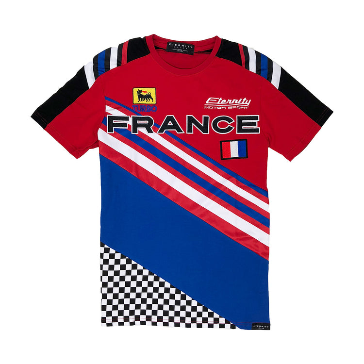 Eternity BC / AD France Racing Tee Red