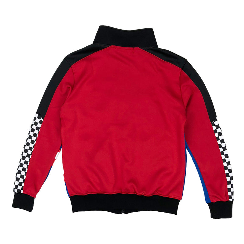 Eterntiy BC / AD France Racing Track Jacket Red Back