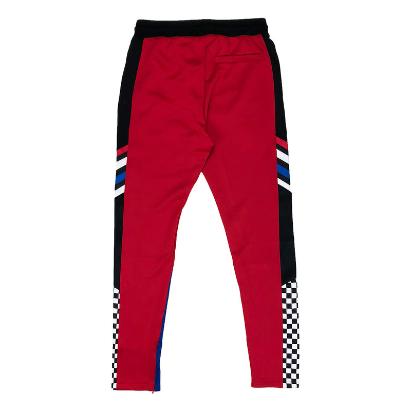 Eternity BC / AD France Racing Track Pants Red Back