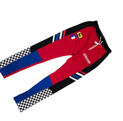 Eternity BC / AD France Racing Track Pants Red Front