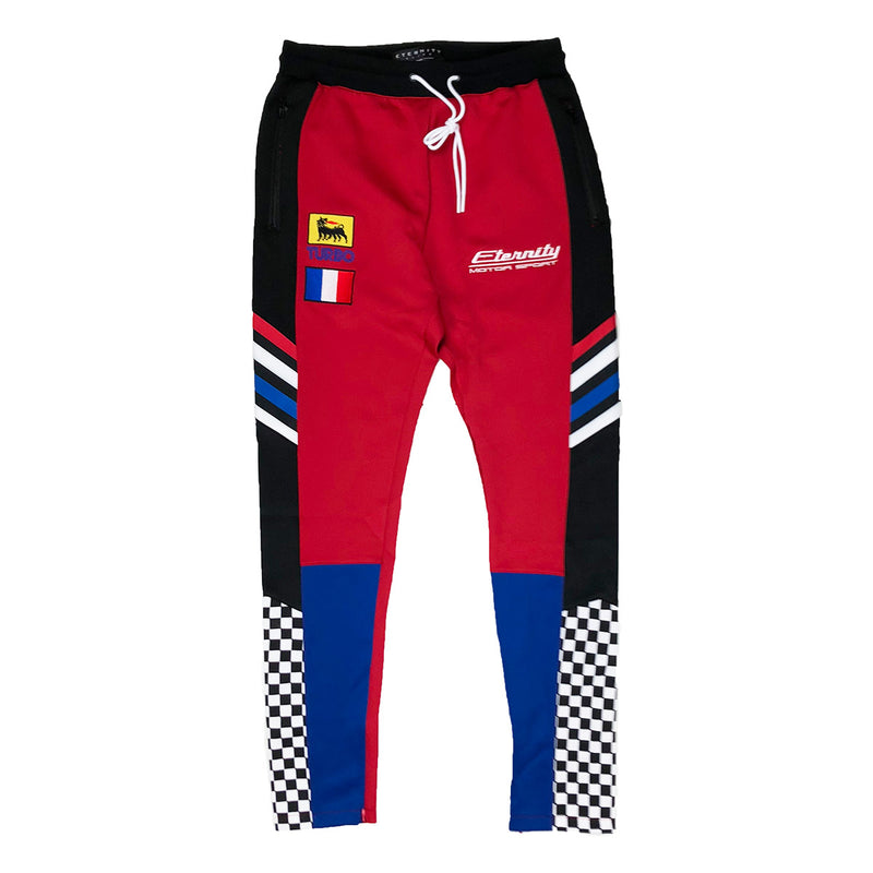 Eternity BC / AD France Racing Track Pants Red