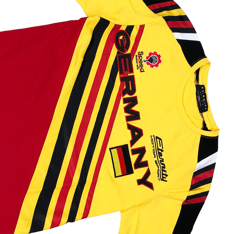 Eternity BC / AD Germany Racing Tee Yellow Front