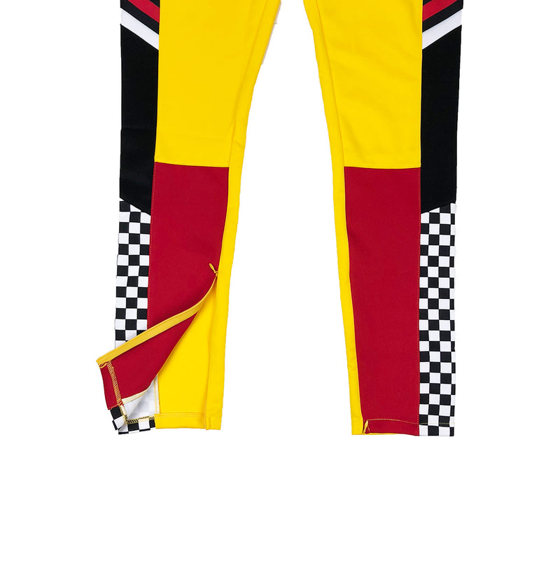 Eternity BC / AD Germany Racing Track Pants Yellow Zipper
