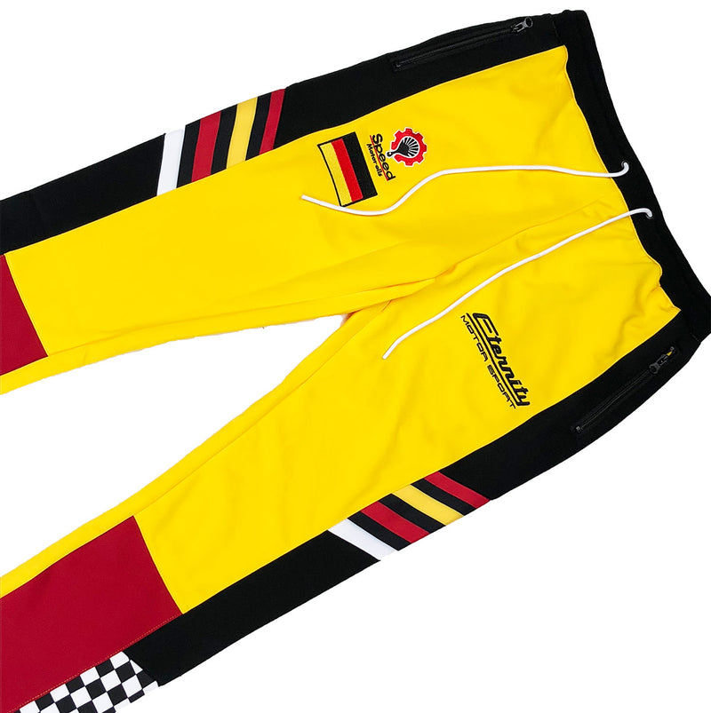 Eternity BC / AD Germany Racing Track Pants Yellow Front