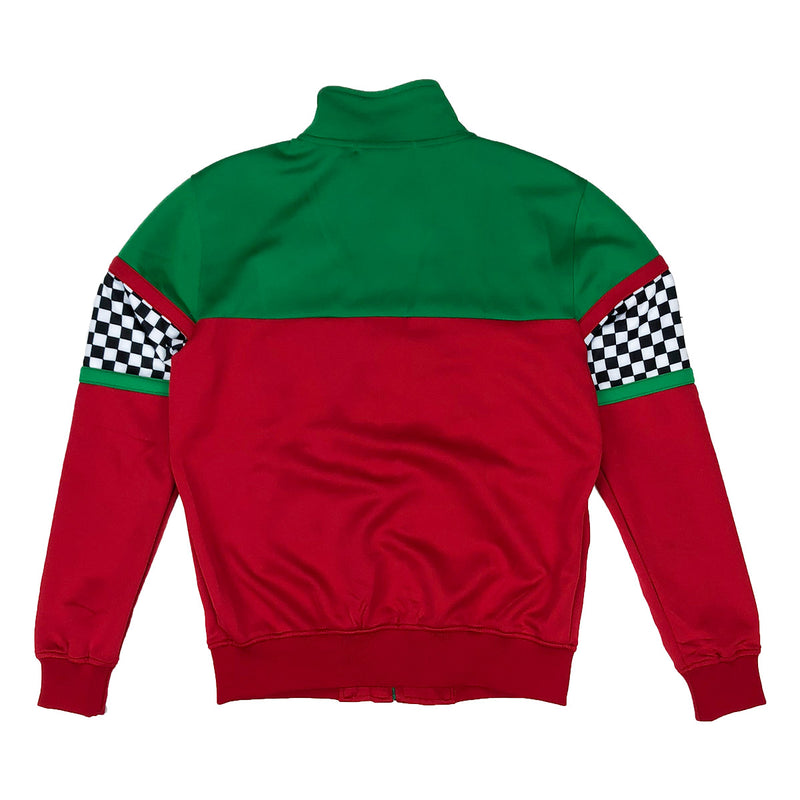 Eternity BC / AD Italy Moto Track jacket Red Back