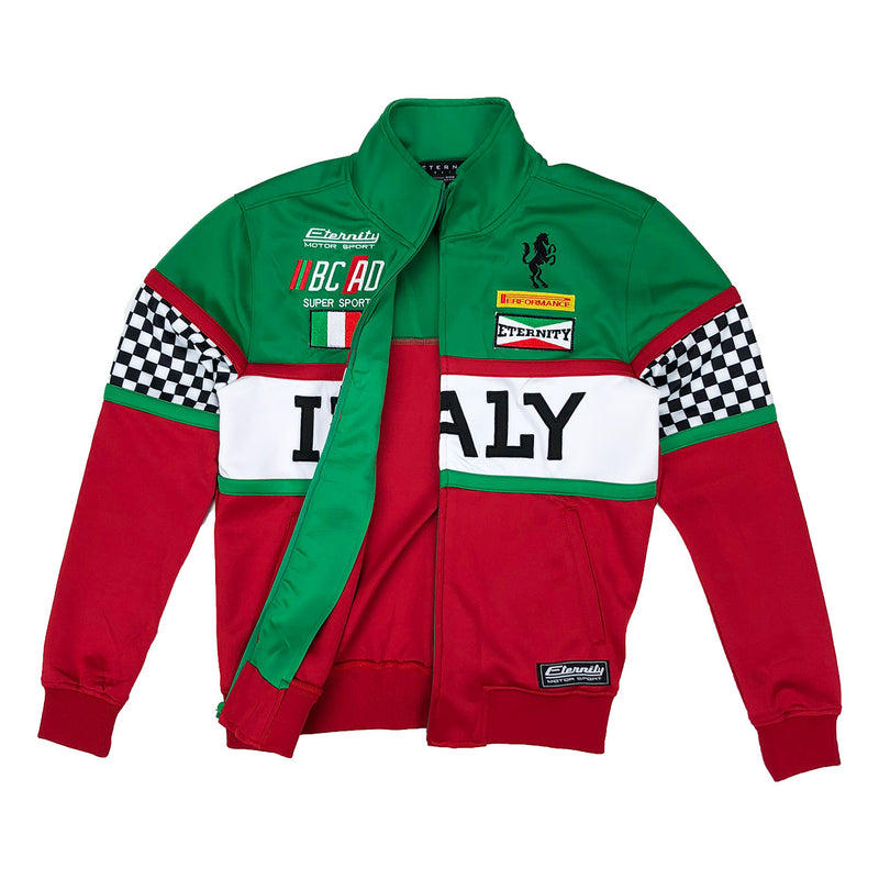 Eternity BC / AD Italy Moto Track jacket Red Opened