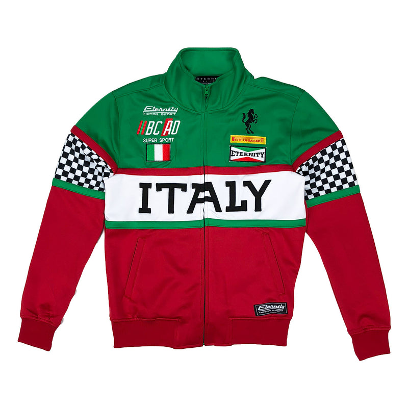 Eternity BC / AD Italy Moto Track jacket Red